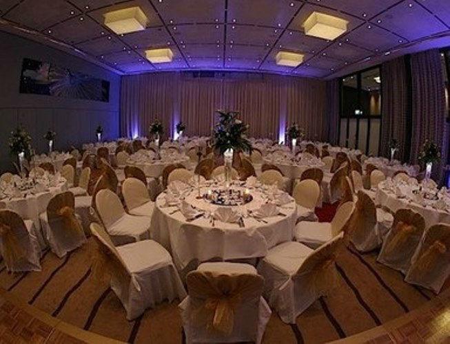 Beispiel: Hochzeitsgedeck, Foto: Grand Hotel Esplanade Berlin.