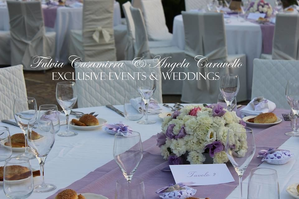 Fulvia Casamirra & Angela Caravello exclusive wedding and events