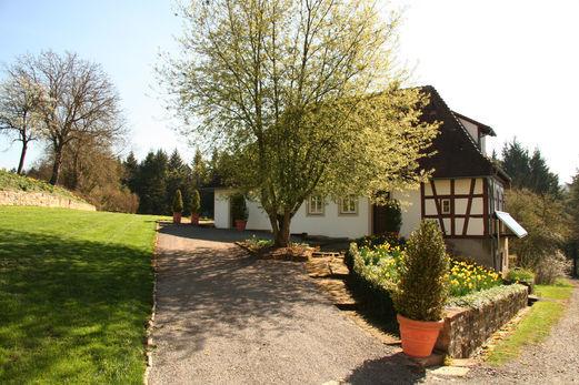 Beispiel: Waldhaus, Foto: Schloss Neuhaus.