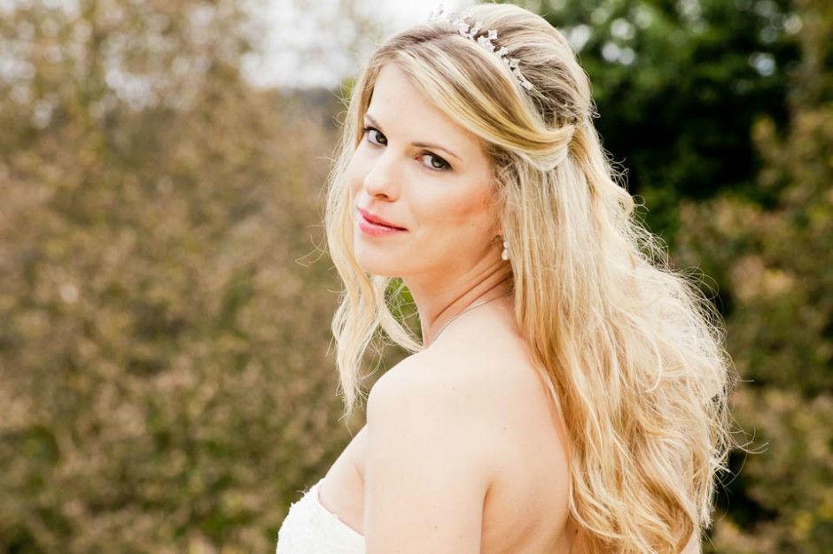 Hochzeit in Schloss Obermayrhofen.  Beispiel: Portrait der Braut, Foto: myshoot.
