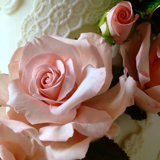Confiserie de Lu - Detalhe das rosas em açúcar