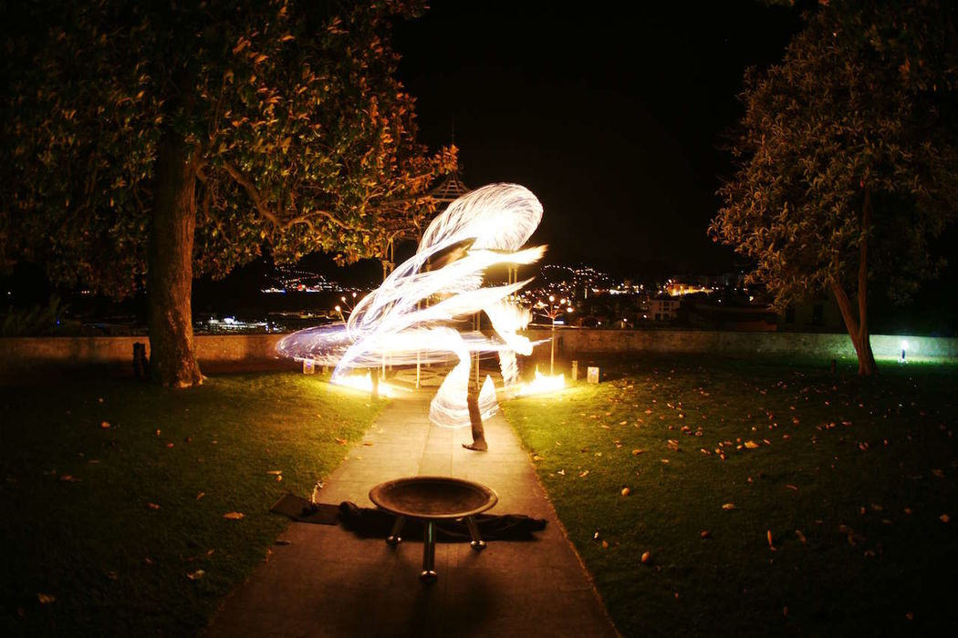 Feuertanz - Feuershow mit Feuerwerk
