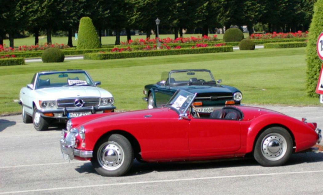 Beispiel: Oldtimer, Foto: Classic Roadster München.