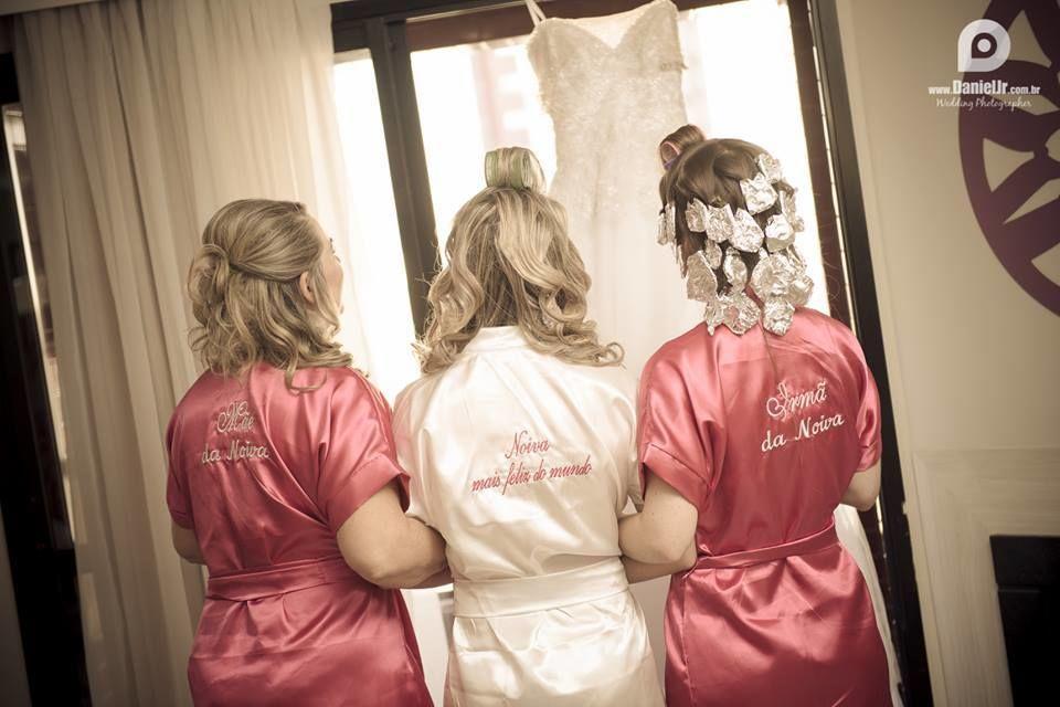 Robe de Cetim - Convencional www.atelieranart.com.br