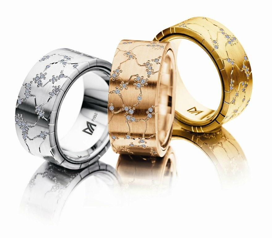 Beispiel: Persönliche Ringe, Foto: Juwelier Dallinger.