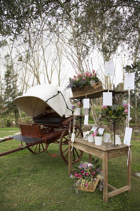 La Pampa Relais - Uno dei nostri tableau de mariage in stile eco-chic