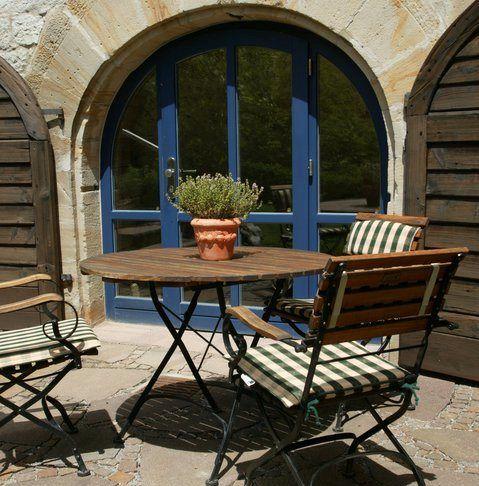 Beispiel: Terrasse, Foto: Romantik Hotel Altes Amtshaus.