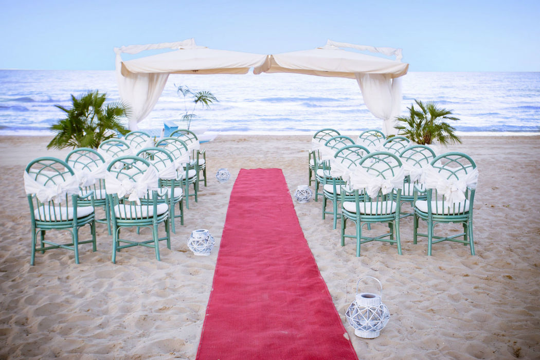 Hotel Ambasciatori - Beach Set-up