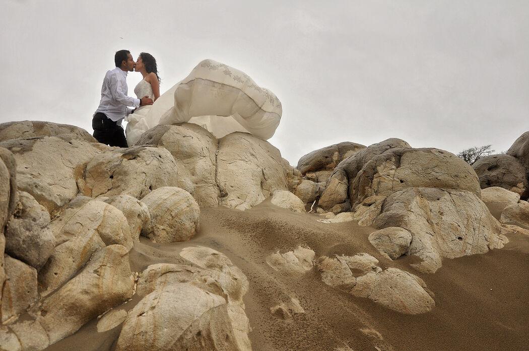 piedras y novios