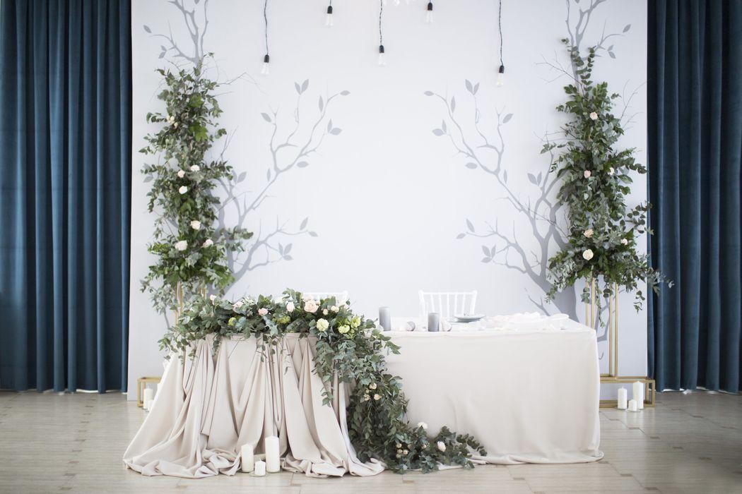 Оформление свадьбы 5 o`clock