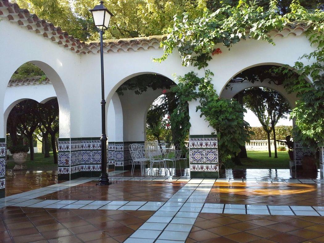 Arcos patio andaluz