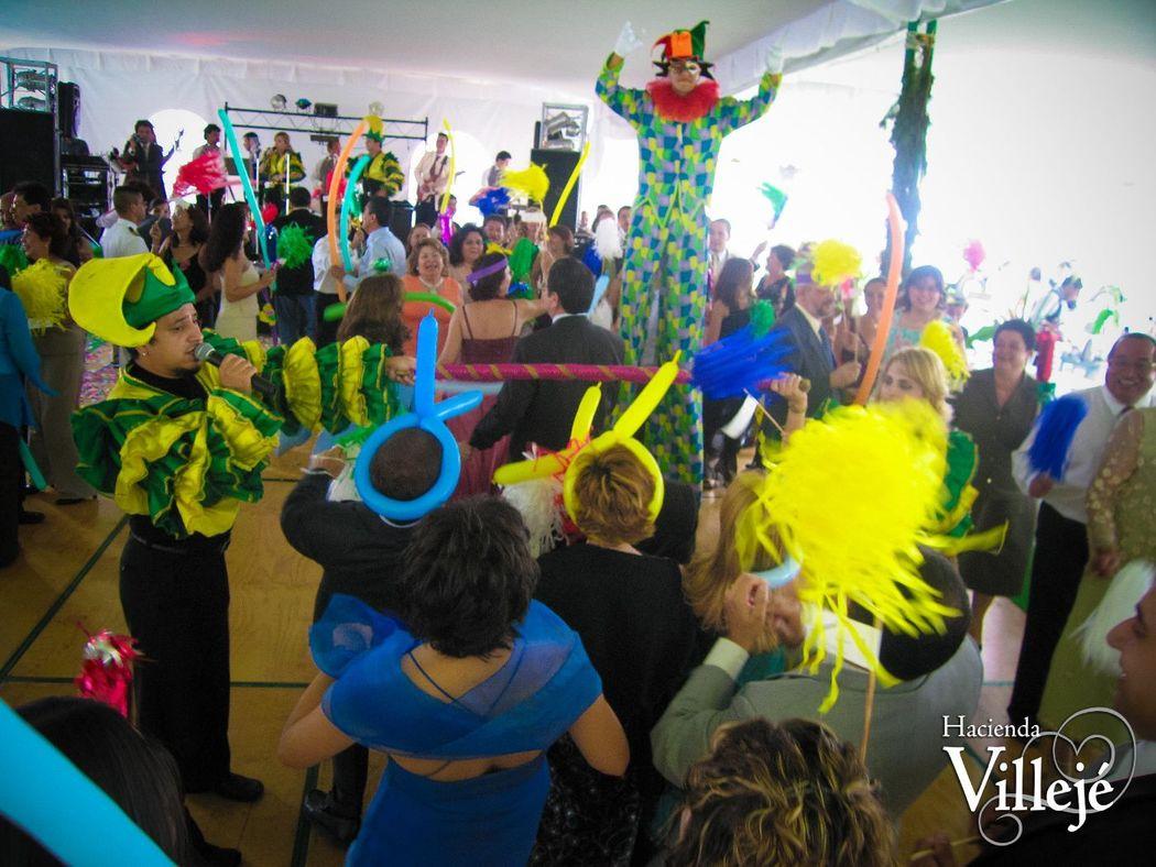 La música es un factor primordial para el éxito de tu fiesta en Hacienda Villejé.