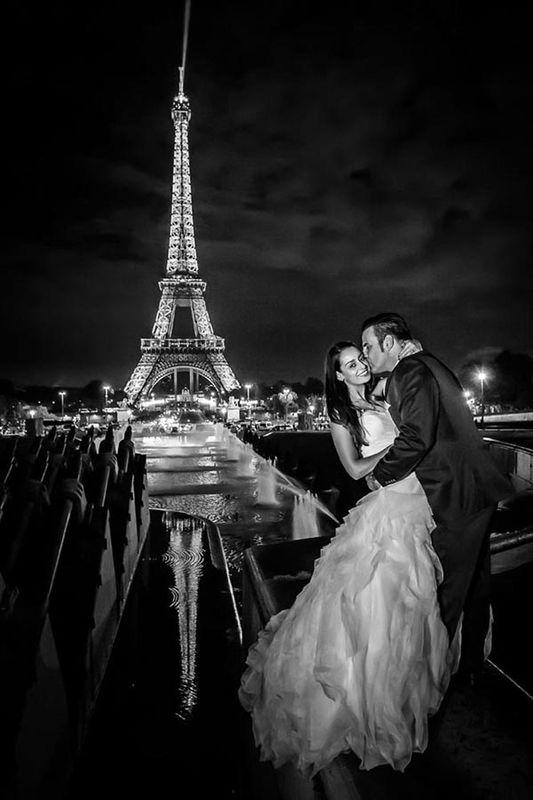 Hochzeitsfotos in Paris