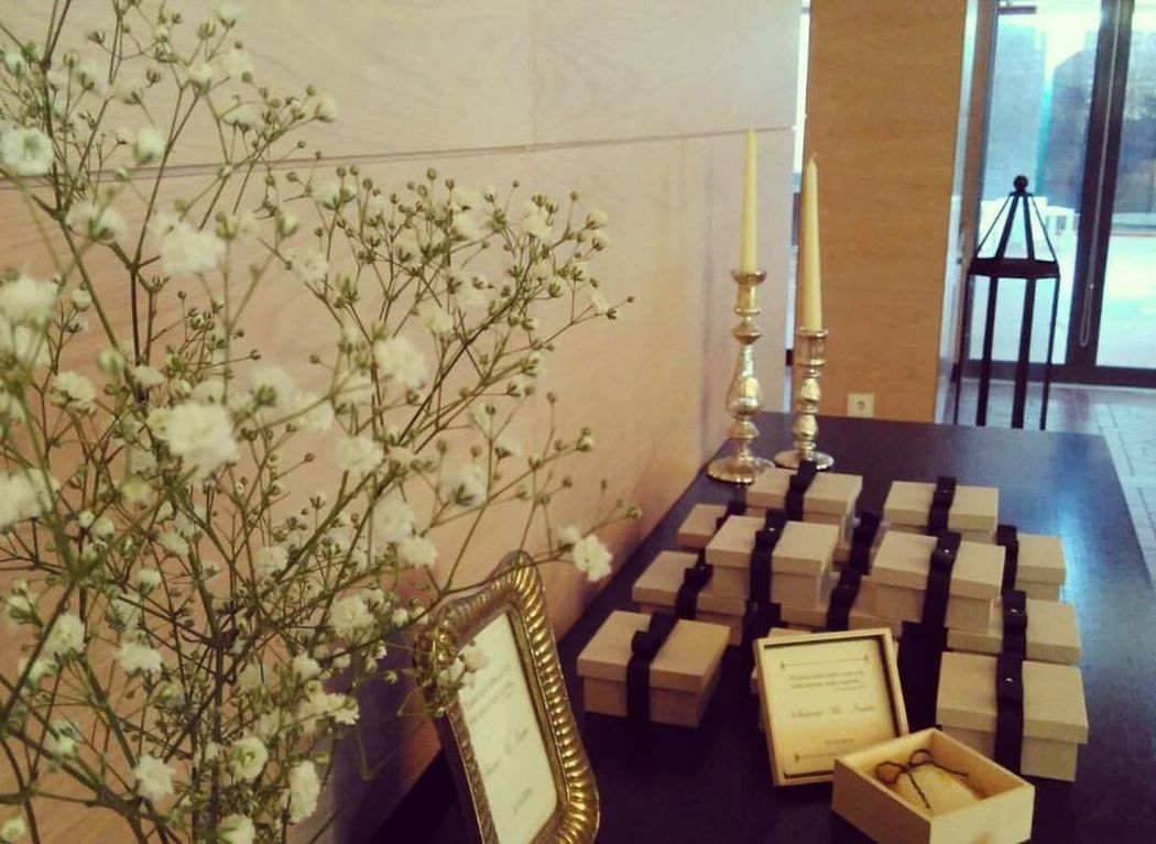 Caixa em Madeira  - Lembranças de Casamento