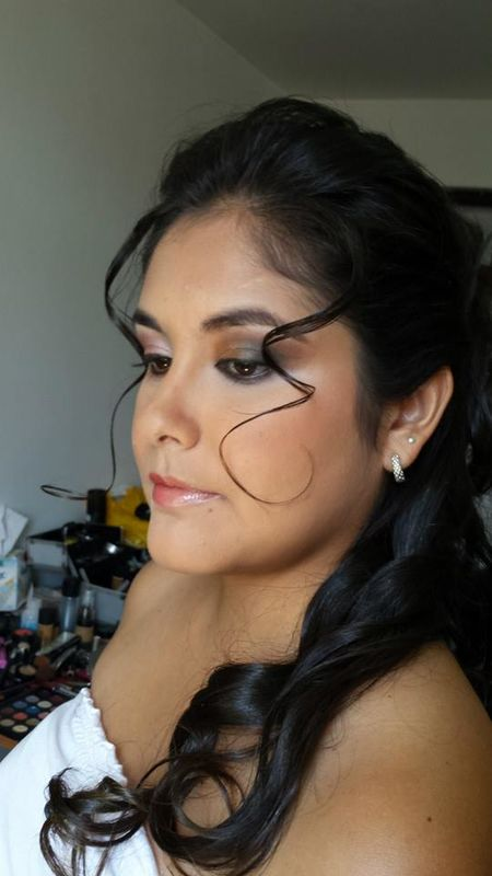 Pruebas de make up y peinado.