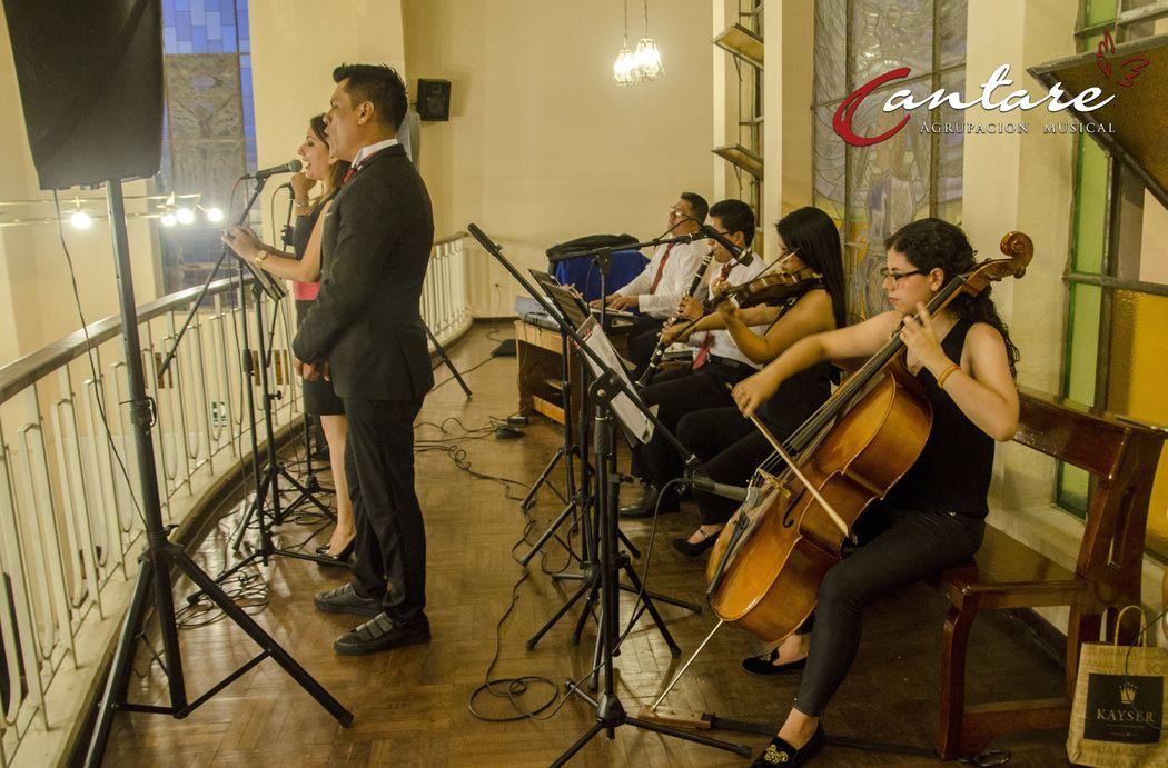 Coro Cantaré; Solistas y Coros