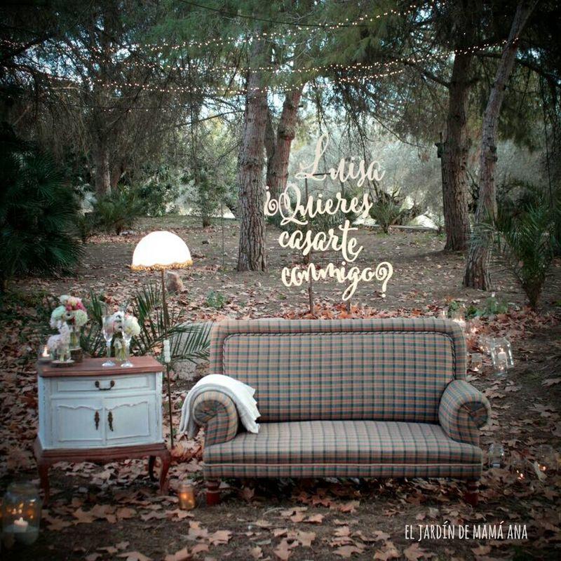 Diseño de bodas, eventos y escenografías para editoriales de moda por El Jardín de mamá Ana.