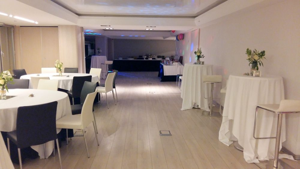 Sala Nueva York, boda coctel