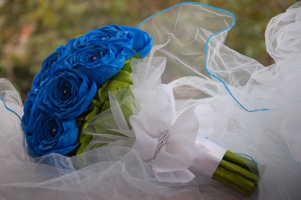 Buquê azul royal - maravilhoso!