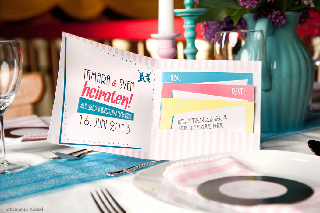 50er Jahre Hochzeit Konzept, Foto: Fotomania Kassel