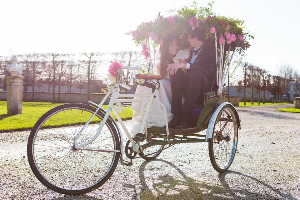 French Antique Wedding - Rickshaw