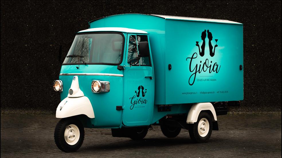 Gioia - Genuss auf drei Rädern