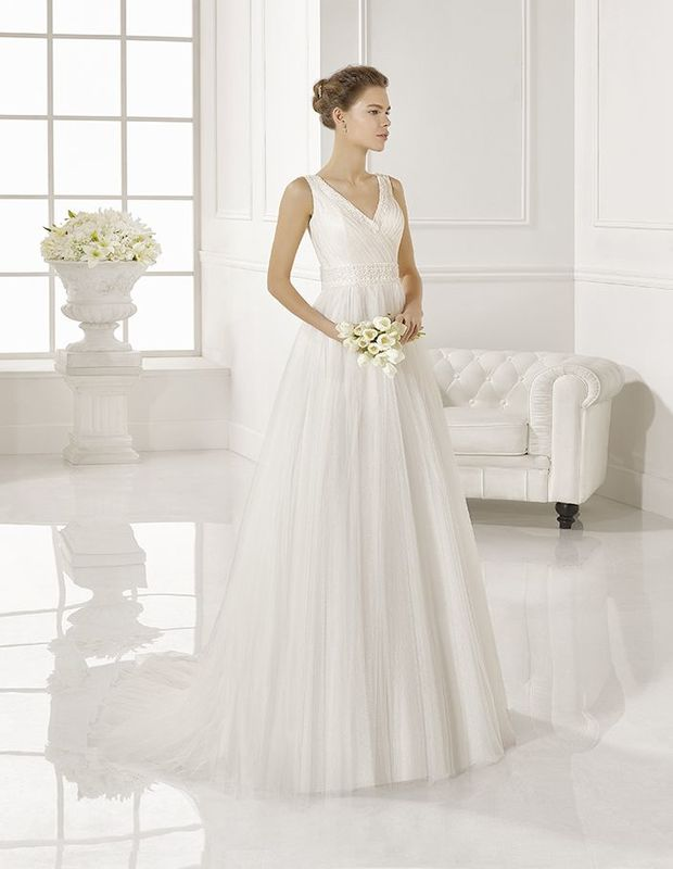 Vestido de noiva Zaragoza - Adriana Alier