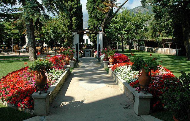 Il parco - Villa Eva