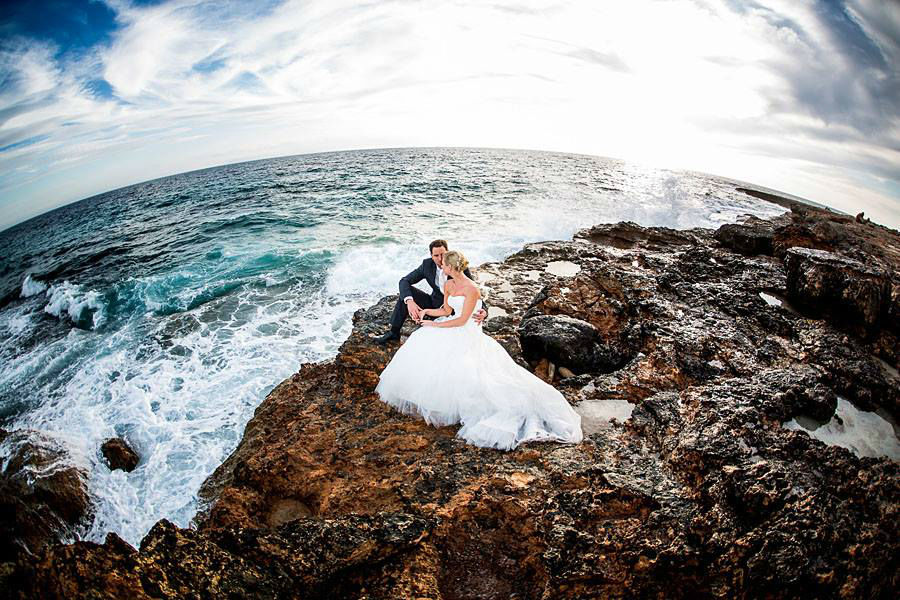 Beispiel: Romantische Hochzeitsfotos, Foto: Steffen Löffler und Thomas Weber Fotografie.