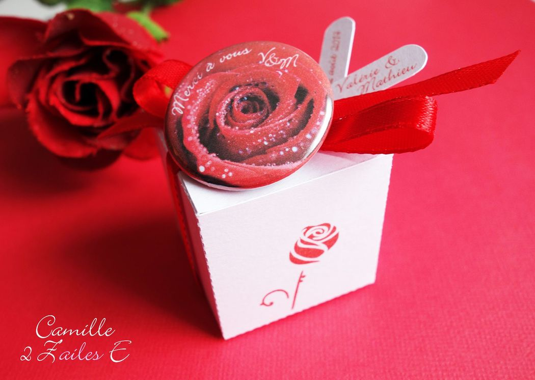 Camille 2 Z'ailes E | Cadeaux d'invités