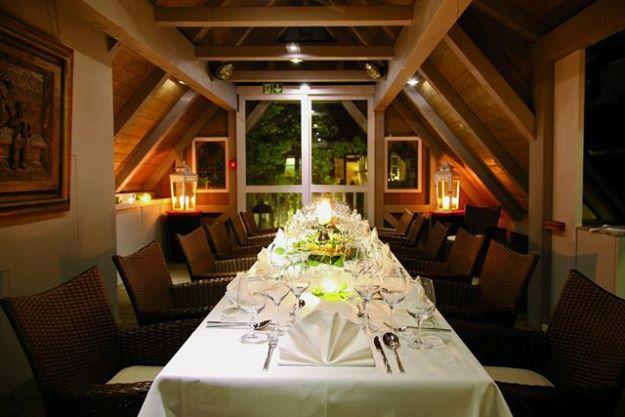 Beispiel: Hochzeitstafel, Foto: Landhaus-Hotel Waitz.