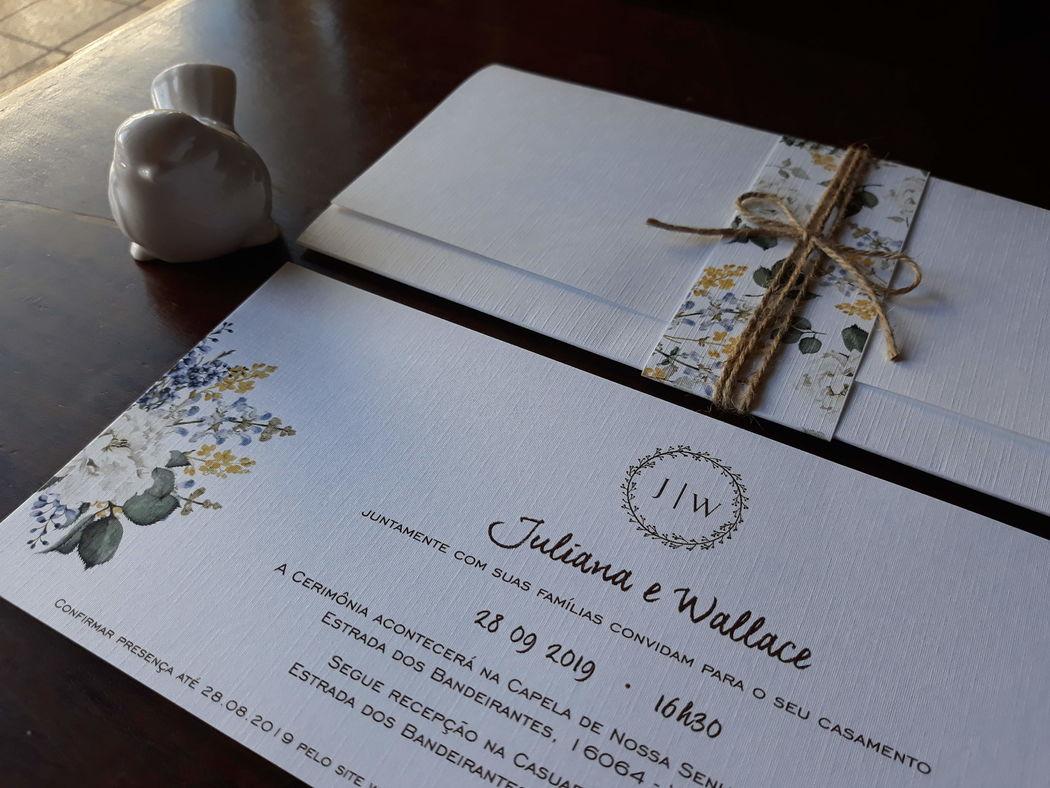 Papel de Flor Conviteria
