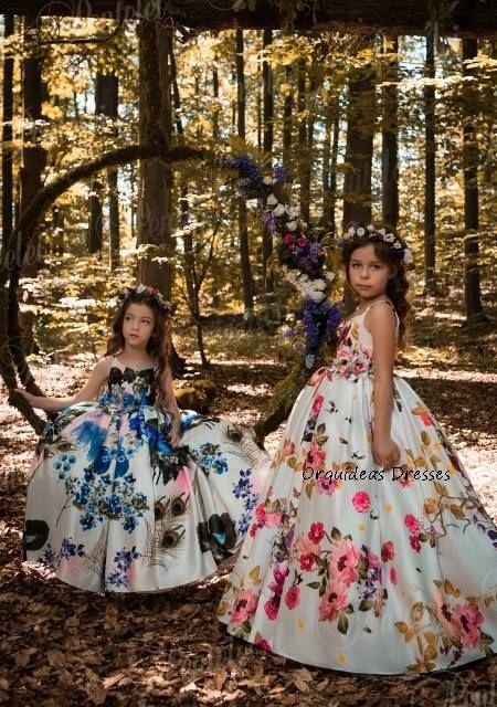 Orquídeas Dresses - Vestidos de Pajecitas