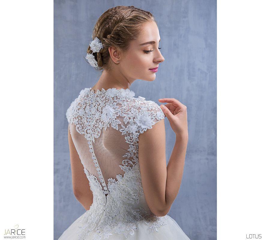 LOTUS ivoire ou blanc - collection Un jour, une mariée