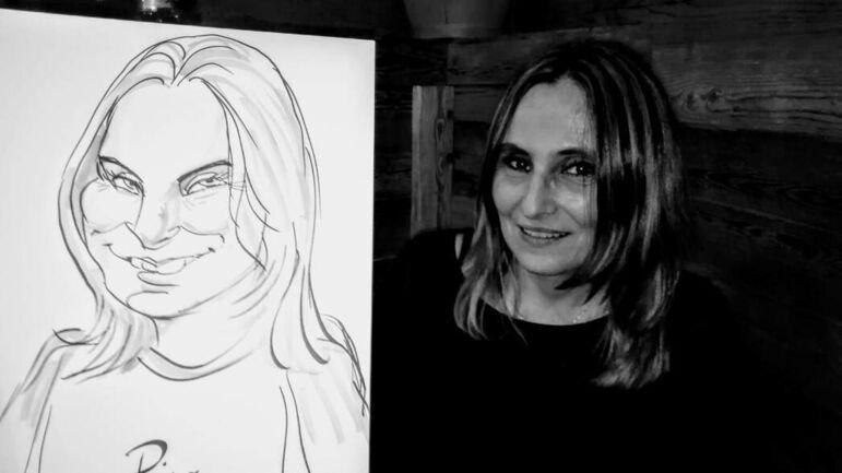 LEONARDO Hochzeitsportraitzeichner-Karikaturist-Schnellzeichner