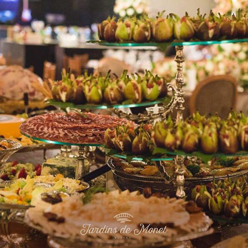 Buffet Jardins de Monet