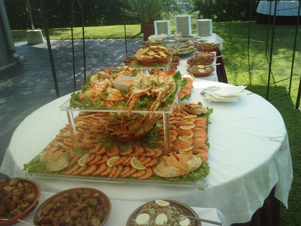 Buffet  de Marisco