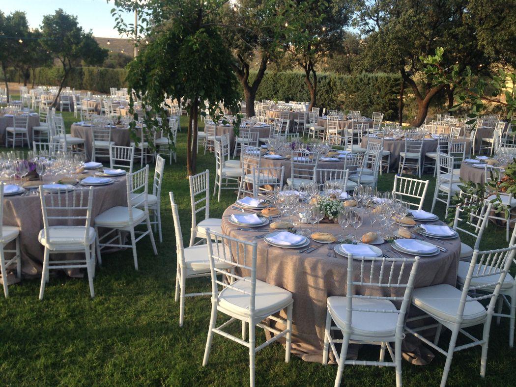Montaje boda Casseroles