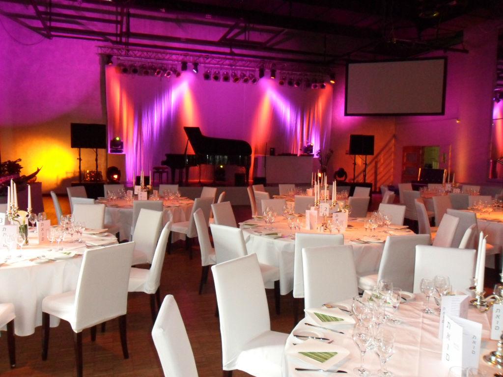 Beispiel: Festsaal, Foto: Palais Kulturbrauerei.