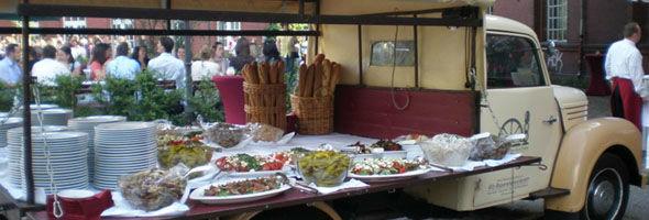 Beispiel: Catering, Foto: Alte Pumpe.