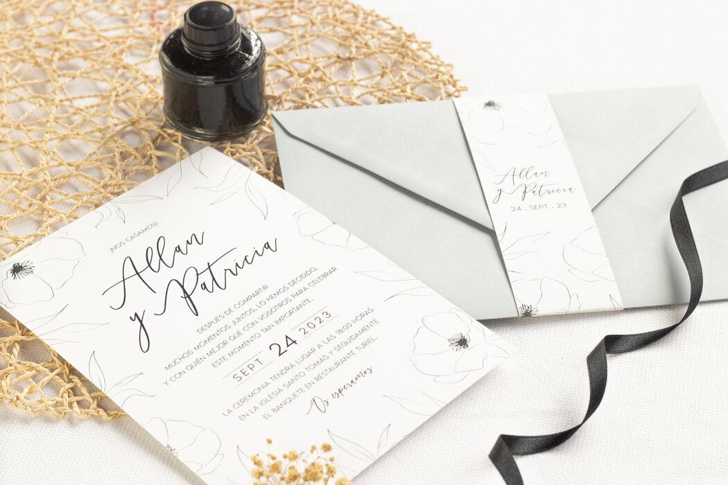 Invitaciones de boda Bodapix