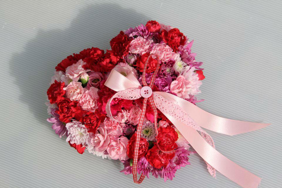 Beispiel: Dekoration, Foto: Blumen Damerius.