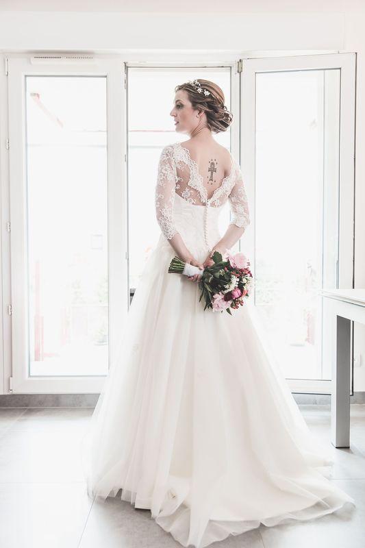 CréAnne Maison de Couture. Robes de mariée uniques et personnalisées. Nancy -  France.