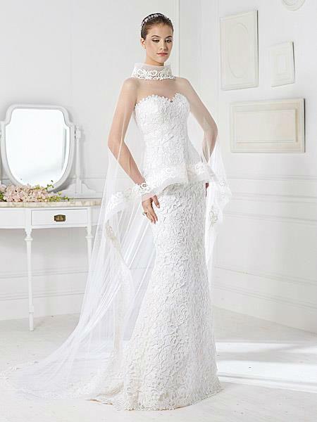 Beispiel: Individuelle Brautkleider, Foto: Liluca.
