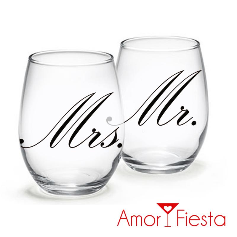 Amor y Fiesta y sus vasos de 12 oz.