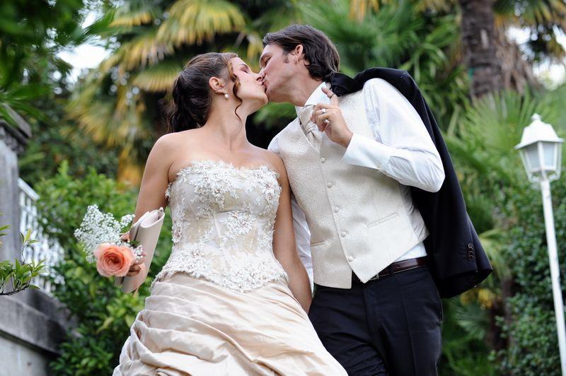 Just Married Villa Volpi  - Mario Curti Photographer