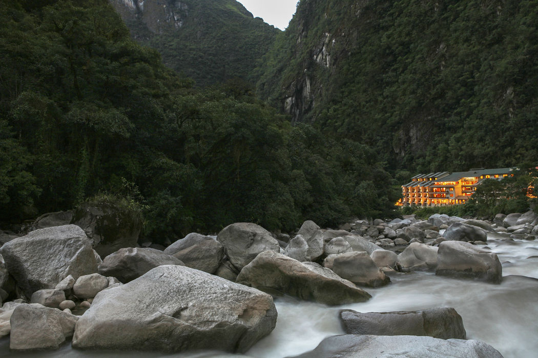 Foto panorámica de Sumaq Machu Picchu Hotel