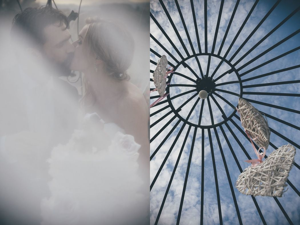 Un bacio, un velo, le nuvole - A kiss, a veil, the clouds SBW - Stefano Brianti Wedding