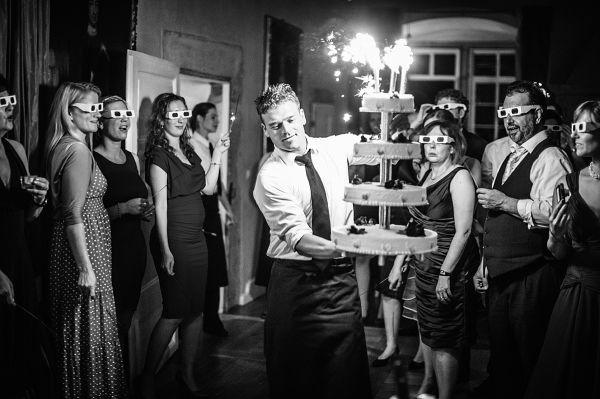 Beispiel: Hochzeitsfotos in Schwarz-Weiß, Foto: asa400.