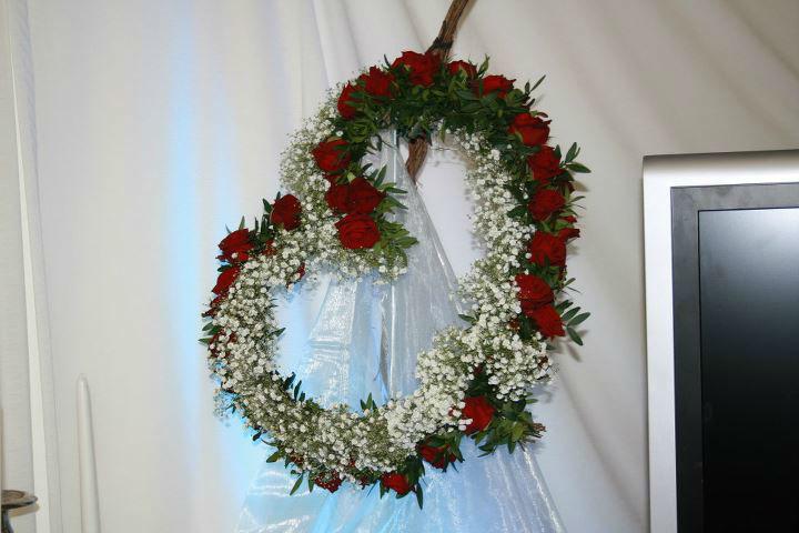 Beispiel: Hochzeitsfloristik, Foto: Floristik Studio.